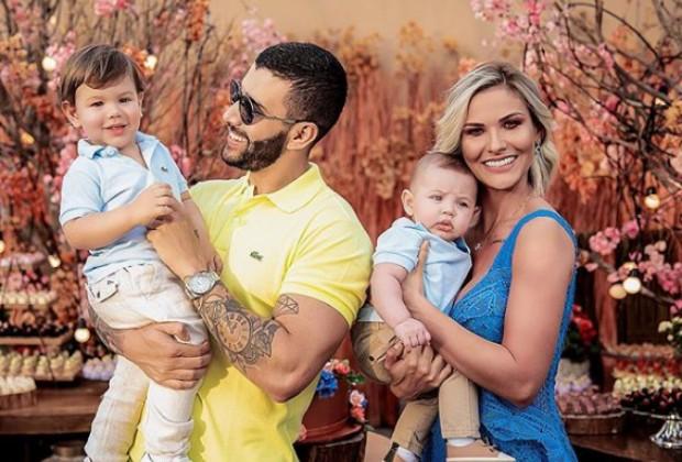 gusttavo lima andressa suíta filhos família - Gusttavo Lima recusa propostas milionárias para comerciais em família