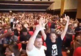 Com a presença de Ciro e gritos de Lula Livre, Haddad é ovacionado no Festival de Cinema de Fortaleza