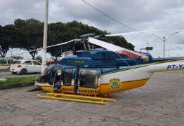 Helicóptero da PRF cai com três policiais
