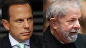 lula   joao doria 0 300x169 - João Dória responde Gleisi e diz que Lula terá a oportunidade de trabalhar em presídio
