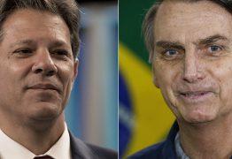 PESQUISA DATAFOLHA: Haddad venceria Bolsonaro se eleição fosse hoje