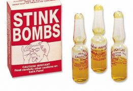 Conheça a bomba mais fedida do mundo