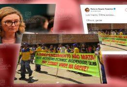 FAKE NEWS?: Maria do Rosário utiliza foto de 2011 para forjar apoio de categorias a Dilma Rousseff