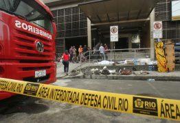 Sobe para 14 o número de vítimas do incêndio de hospital do Rio de Janeiro