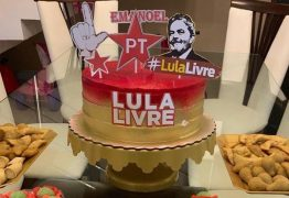Empresário paraibano comemora aniversário com tema '#LulaLivre'
