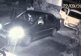IMAGENS FORTES: ex-PM é assassinado a tiros dentro de carro de aplicativo