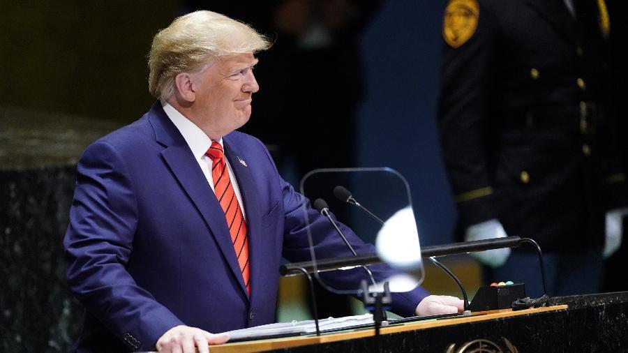 24set2019 o presidente dos estados unidos donald trump discursa na 74 sessao da assembleia geral das nacoes unidas em nova york 1569336794784 v2 900x506 - Trump chama Nicolás Maduro de 'fantoche de Cuba' em discurso na ONU