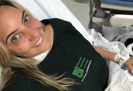Jornalista Andreia Barros agradece carinho durante recuperação no Hospital Napoleão Laureano: 'Me sinto ótima!'