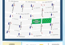 Semob-JP altera trânsito em Manaíra com binários, ciclofaixa bidirecional e mudança de estacionamento