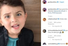 Garoto de 5 anos faz cover de Gusttavo Lima e viraliza nas redes sociais: VEJA VÍDEO