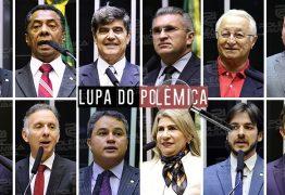 LUPA DO POLÊMICA: saiba quanto gastaram os deputados federais paraibanos durante os primeiros seis meses de 2019 – VEJA TABELA COMPLETA