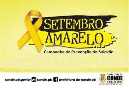 CAPS de Conde promove ações especiais em alusão ao Setembro Amarelo
