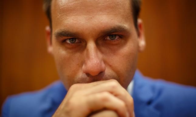 eduardo bolsonaro - Punição a Eduardo na Câmara será teste para força política do clã Bolsonaro