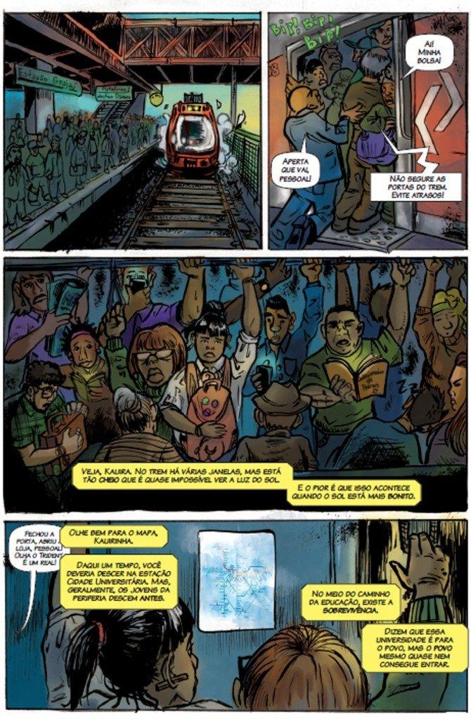 gibi2 670x1024 - 'Perifa Geek': rappers brasileiros viram super-heróis em quadrinhos