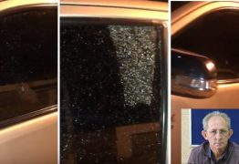 Vereador sofre atentado e tem carro alvejado por tiros a caminho de sessão em Livramento – VEJA VÍDEO