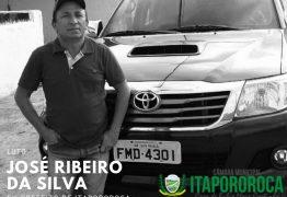 José Ribeiro, ex-prefeito de Itapororoca, morre aos 63 anos