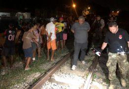 Homem morre após ser atropelado por trem, em Cabedelo