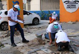 Campanha Praia Limpa começa pela Avenida Edson Ramalho