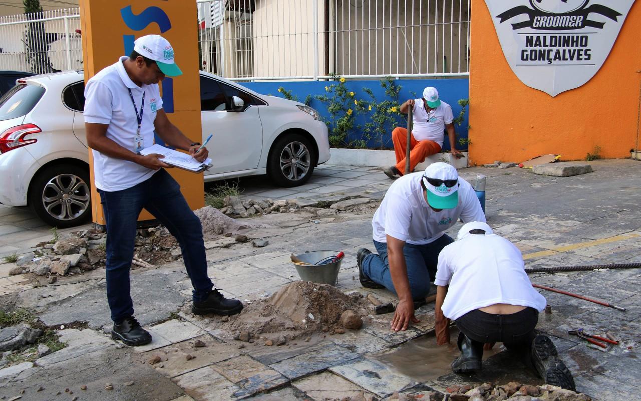 unnamed 6 - Campanha Praia Limpa começa pela Avenida Edson Ramalho