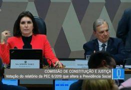 CCJ do Senado vota relatório da Reforma da Previdência – ACOMPANHE AO VIVO
