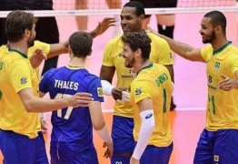 Seleção brasileira masculina de vôlei estreia Copa do Mundo com vitória