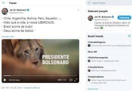 Publicação de Bolsonaro gera mal-estar no Supremo e infla ânimos no PSL; VEJA VÍDEO