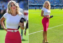 Jornalista esportiva é alvo de gritos machistas durante jogo: 'Mostra os seios' – VEJA VÍDEO