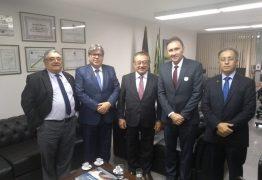 QUEBRANDO O GELO: José Maranhão e João Azevedo destacam positivamente primeiro encontro em Brasília