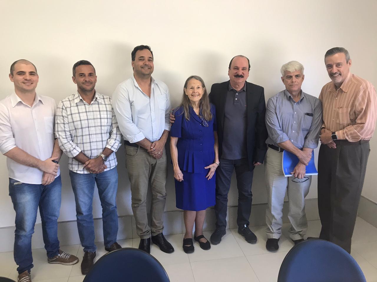 Comitiva americana visita Secitec - Comitiva americana visita Secitec para conhecer o ecossistema de tecnologia do município