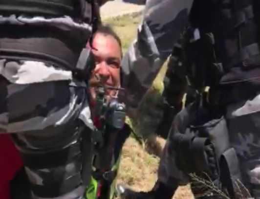 PRESO7 - Bombeiro que sequestrou namorado da ex é liberado após passar por audiência de custódia na PB