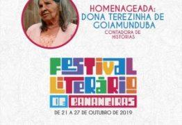 Bananeiras realiza I Festival Literário nos dias 21 a 27 de Outubro