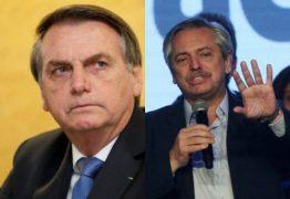 Bolsonaro diz que Argentina 'escolheu mal' e que não vai parabenizar Fernández após eleição