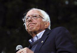 Bernie Sanders, pré-candidato nos EUA, coloca stents no coração