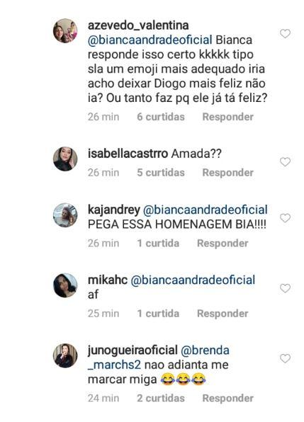 coments 1 - Cantor Diogo, da Banda Melim, assume namoro com Bianca Andrade e faz declaração no aniversário da blogueira