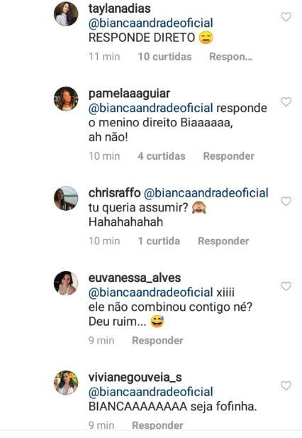 coments 3 - Cantor Diogo, da Banda Melim, assume namoro com Bianca Andrade e faz declaração no aniversário da blogueira