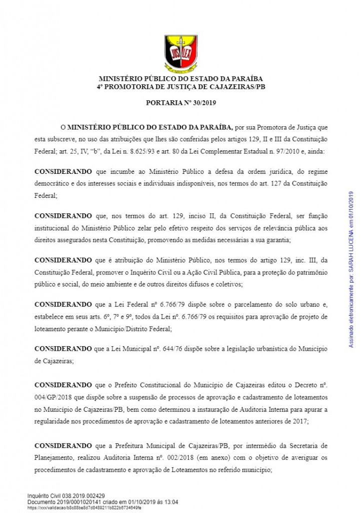 download 1 1 - HERANÇA REVISTA: Promotora abre três inquéritos para investigar construções irregulares em gestão passada de Cajazeiras