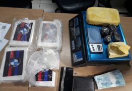 Motorista de aplicativo é preso em flagrante com seis quilos de drogas em João Pessoa