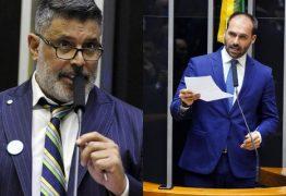 Bate-boca no senado: Eduardo Bolsonaro diz que Frota 'era menos promíscuo fazendo pornô' e ele rebate -VEJA VÍDEO
