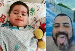 Morre criança que teve dinheiro de tratamento desviado pelo pai