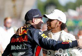 Verstappen diz que Hamilton só está perto do hexa por não ter rivais