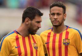 Messi admite que há poucas chances de Neymar trocar o PSG pelo Barcelona