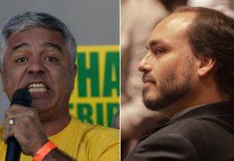 TROCA DE FARPAS: 'Sou bobo da corte e você é moleque', diz Major Olimpio a Carlos Bolsonaro