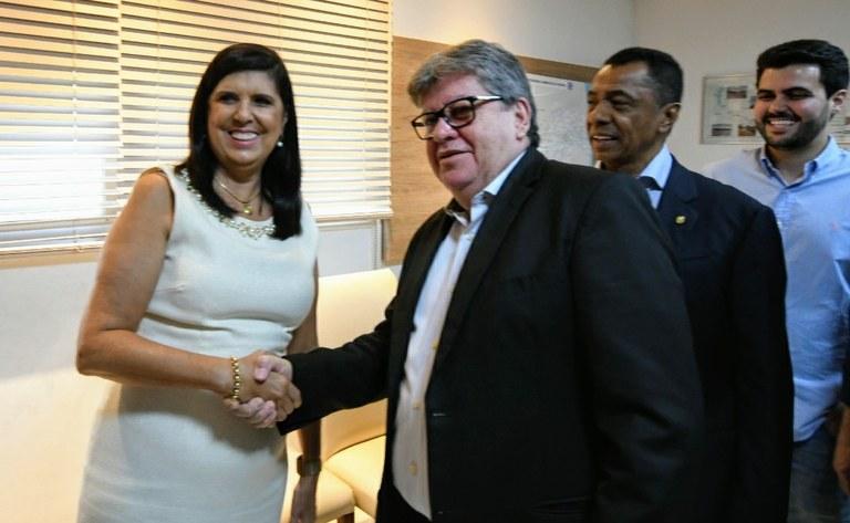 592ecf21 9079 4b1c a3c4 52341fe94920 - Lígia Feliciano assume governo do estado durante viagem de João Azevedo à Europa