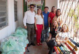 """Creci-PB doa 700 Kg de alimentos à Fundação """"Fé e Alegria"""", em JP"""