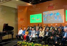 Ricardo Coutinho e Veneziano se encontram pela primeira vez após senador anunciar saída do PSB