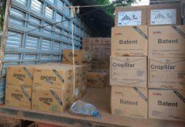 Ladrões invadem fazenda e levam R$ 260 mil em agrotóxicos