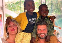 """""""Sei o que é ser mãe de crianças negras"""", declara Giovanna Ewbank"""