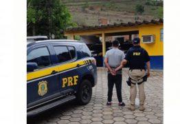 Ação conjunta entre PRF e Polícia Civil da Paraíba prende homem acusado de matar ex-sogro em Aroeiras