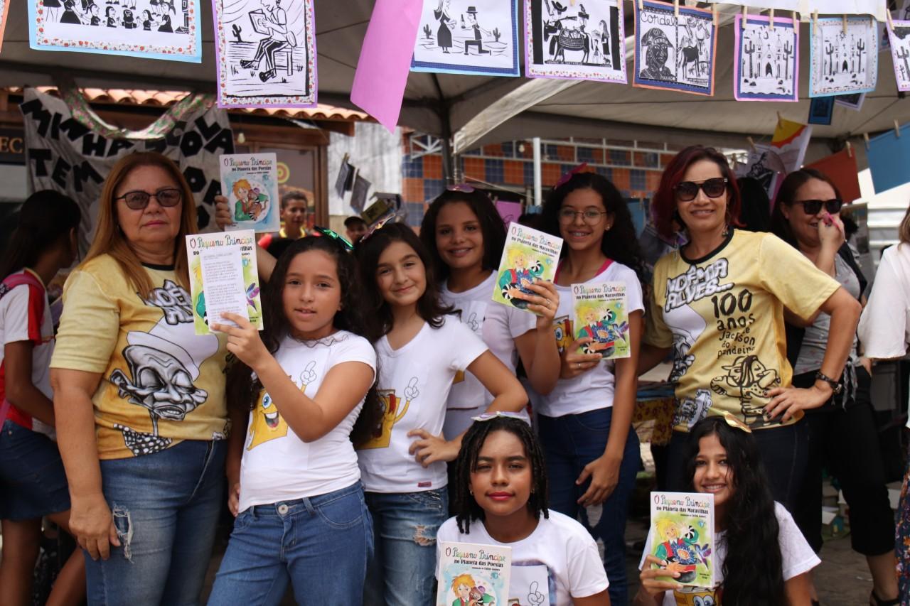 Mostra Pedagógica Fotos Secomd 8 - Estudantes da rede municipal de ensino participam da I Mostra de Criatividades e Práticas Pedagógicas de Conde