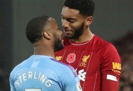 Sterling é afastado da seleção da Inglaterra após brigar em treino